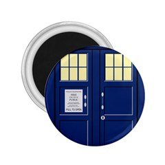 Tardis Doctor Who Time Travel 2 25  Magnets