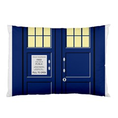 Tardis Doctor Who Time Travel Pillow Case (two Sides)