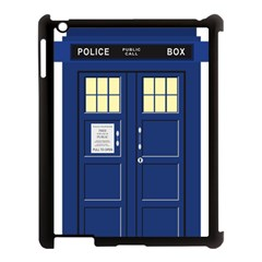 Tardis Doctor Who Time Travel Apple Ipad 3/4 Case (black) by HermanTelo