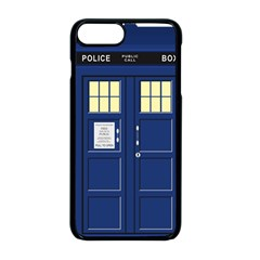 Tardis Doctor Who Time Travel Iphone 8 Plus Seamless Case (black)
