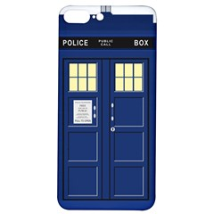 Tardis Doctor Who Time Travel Iphone 7/8 Plus Soft Bumper Uv Case