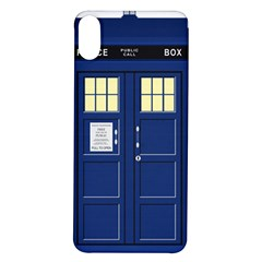 Tardis Doctor Who Time Travel Iphone X/xs Soft Bumper Uv Case