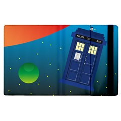 Tardis Doctor Time Travel Apple Ipad Mini 4 Flip Case