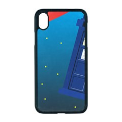 Tardis Doctor Time Travel Iphone Xr Seamless Case (black)
