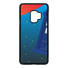 Tardis Doctor Time Travel Samsung Galaxy S9 Seamless Case(black)