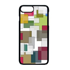 Wallpaper Texture Plaid Iphone 8 Plus Seamless Case (black)