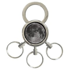 Full Moon 3 Ring Key Chain by TheAmericanDream