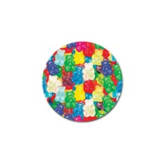 Gummy Bear Golf Ball Marker (10 Pack) by TheAmericanDream