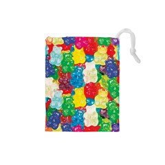 Gummy Bear Drawstring Pouch (small) by TheAmericanDream