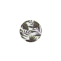 Tropical Leaves 1  Mini Buttons by goljakoff