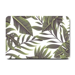 Tropical Leaves Small Doormat  by goljakoff