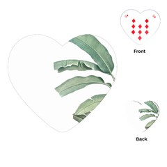Banana Leaf Playing Cards (heart) by goljakoff