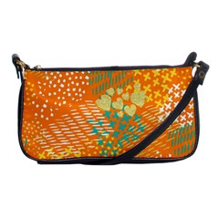 Abstract Colorful Doodle Pattern Shoulder Clutch Bag by tarastyle