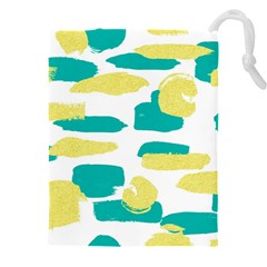 Abstract Colorful Doodle Pattern Drawstring Pouch (xxxl)