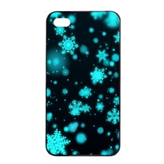 Background Black Blur Colorful Iphone 4/4s Seamless Case (black)