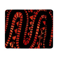 Background Abstract Red Black Samsung Galaxy Tab Pro 8 4  Flip Case