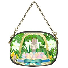 Graphic Easter Easter Basket Spring Chain Purse (one Side) by Pakrebo