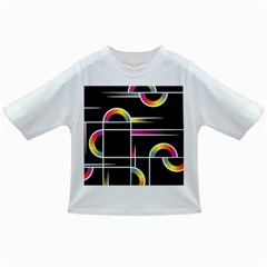 Background Abstract Semi Circles Infant/toddler T Shirts