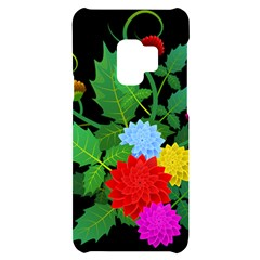 Flowers Floral Plants Nature Samsung S9 Black Uv Print Case by Pakrebo