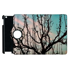 Fruit Tree Silhouette Aesthetic Apple Ipad 2 Flip 360 Case