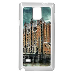 Architecture City Building Travel Samsung Galaxy Note 4 Case (white)