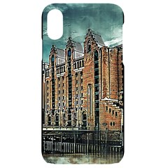 Architecture City Building Travel Iphone Xr Black Uv Print Case