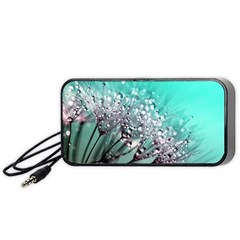 Dandelion Seeds Flower Nature Portable Speaker