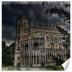 Castle Mansion Architecture House Canvas 12  X 12
