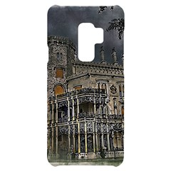 Castle Mansion Architecture House Samsung S9 Plus Black Uv Print Case