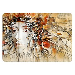 Collage Art The Statue Of Shell Samsung Galaxy Tab 8 9  P7300 Flip Case