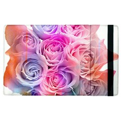 Rose Bouquet Flower Petal Floral Apple Ipad 2 Flip Case