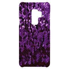 Sequins  White Purple Samsung S9 Plus Black Uv Print Case