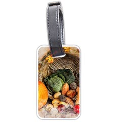 Pumpkin Vegetables Autumn Luggage Tag (one Side)