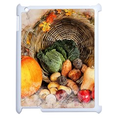 Pumpkin Vegetables Autumn Apple Ipad 2 Case (white)