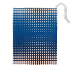 Geometric Wallpaper Drawstring Pouch (xxxl)