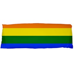 Lgbt Rainbow Pride Flag Body Pillow Case (dakimakura) by lgbtnation