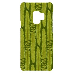 Fern Texture Nature Leaves Samsung S9 Black Uv Print Case