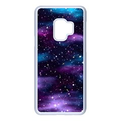 Background Space Planet Explosion Samsung Galaxy S9 Seamless Case(white)