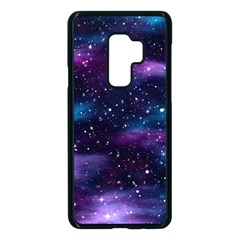 Background Space Planet Explosion Samsung Galaxy S9 Plus Seamless Case(black)