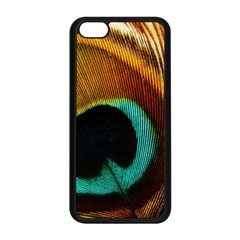 Feather Peacock Feather Peacock Iphone 5c Seamless Case (black)
