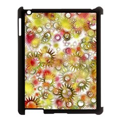 Background Christmas Star Advent Apple Ipad 3/4 Case (black) by Nexatart
