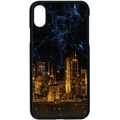 Architecture Buildings City Iphone X Seamless Case (black)
