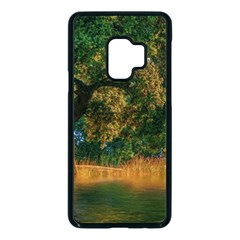 Nature Tree Sunset Giraffe Animal Samsung Galaxy S9 Seamless Case(black) by Pakrebo