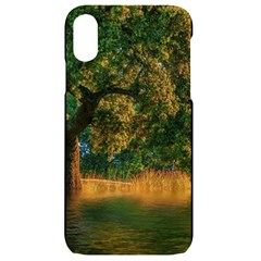 Nature Tree Sunset Giraffe Animal Iphone Xr Black Uv Print Case