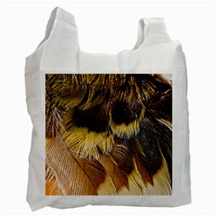 Wing Feather Bird Animal World Recycle Bag (two Side) by Pakrebo