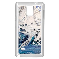 Paint Acrylic Paint Art Colorful Samsung Galaxy Note 4 Case (white) by Pakrebo