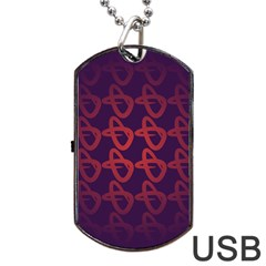 Zappwaits Design Dog Tag Usb Flash (two Sides) by zappwaits