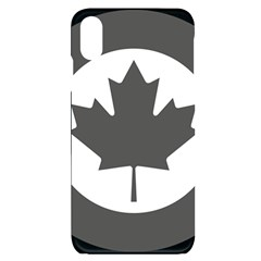 Roundel Of Canadian Air Force   Low Visibility Iphone Xs Max