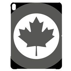 Roundel Of Canadian Air Force - Low Visibility Apple Ipad Pro 12 9   Black Uv Print Case