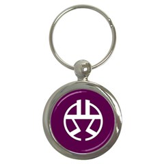 Flag Of Shibuya Key Chain (round)